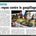 Article-Courrier Picard- Repas anti gaspi