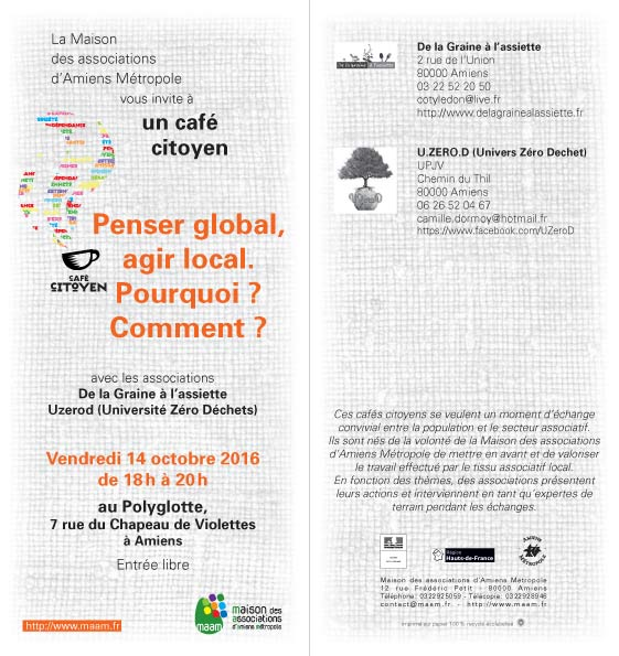 Penser global, agir local, pourquoi ? Comment ?