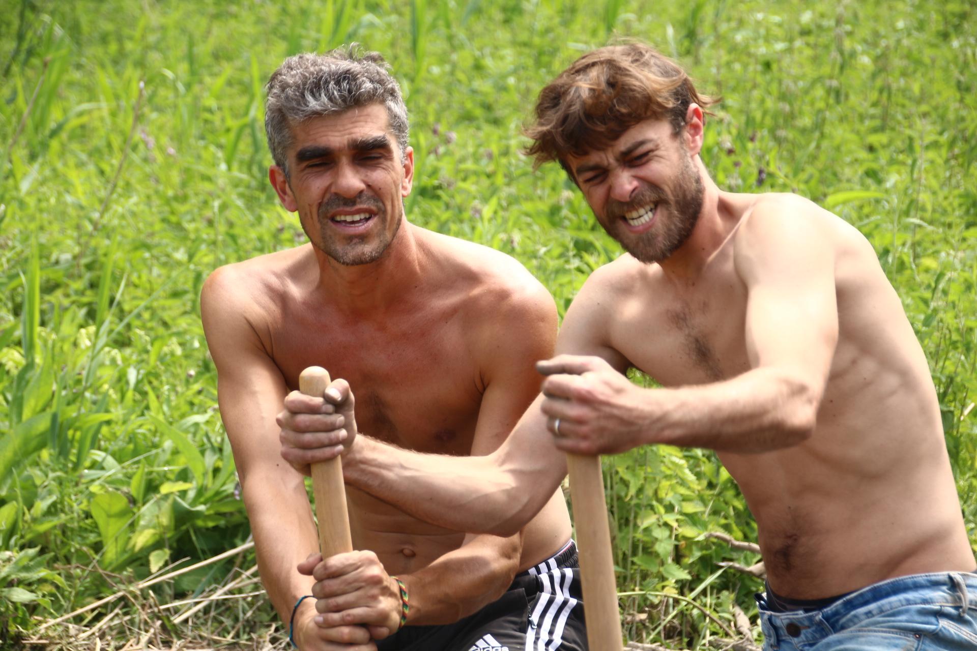 Laurent et Baptiste